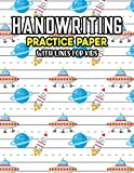 Handwriting Practice Paper With Lines For Kids: Universe Night sky Handwriting Practice Paper With Dotted Lined Sheets for Kids, Kindergarteners, Preschoolers, And toddlers