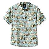 KAVU The Jam Short Sleeve Button Up Aloha Shirt-Car Camp-L