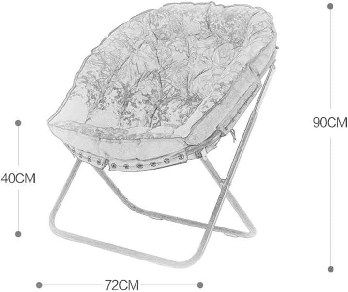 LXDDP Tabourets de Bar pour Bureau, chaises Longues en Tissu de Loisirs minimalistes Modernes, Chambre à Coucher Salon Balcon Pause déjeuner Pliante B
