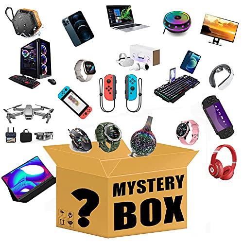 DIGUA Mystery Lucky Box Electronics, se Puede Abrir 1 o 2, Muy Probable a un Drones, Auriculares, Cuadernos, teléfonos celulares, SmartWatches