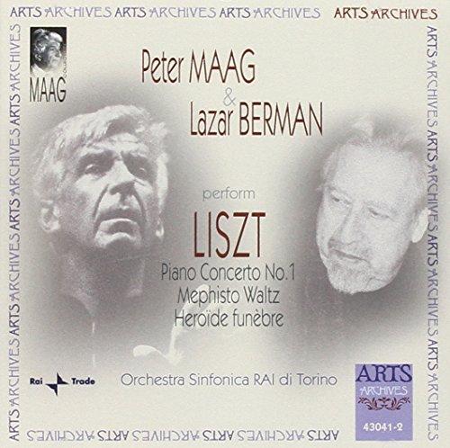 Liszt: Piano Concerto, No. 1 / Mephisto Waltz / Heroide Funebre