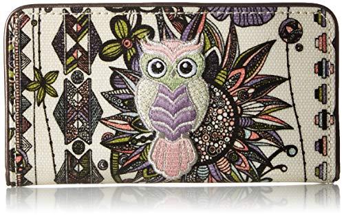 Sakroots Unisex-Erwachsene Artist Circle Slim Wallet Geldbrse, Pastel Spirit Desert, Einheitsgröße