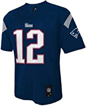 Outerstuff Tom Brady New England Patriots #12 NFL Youth Mid-tier Jersey Navy