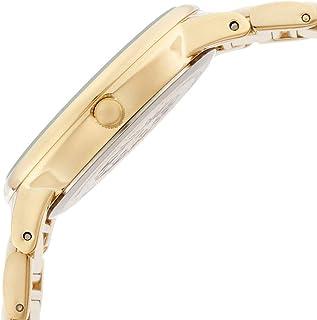 Anne Klein Womens AK 1412IVGB Gold-Tone and Ivory Resin Bracelet Watch
