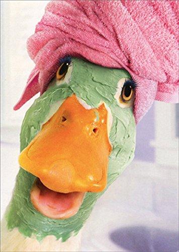 Duck Facial Avanti Humorous/Funny Birthday Card for Her