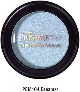 J. Cat Pris-Metal Chrome Eye Mousse Eye Shadow Creamy 18 Colors Avilable Shimmer (PEM104 Dreamer)