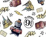 Harry Potter Plattform 9 3/4 Kinderstoff – Hogwarts –