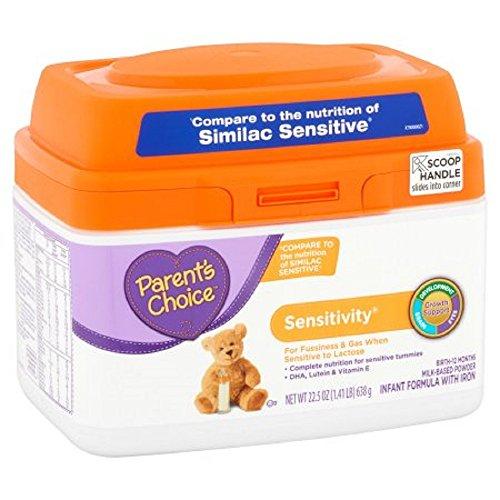 Parent's Choice Sensitivity Powder Infant Formula with Iron, 22.5oz