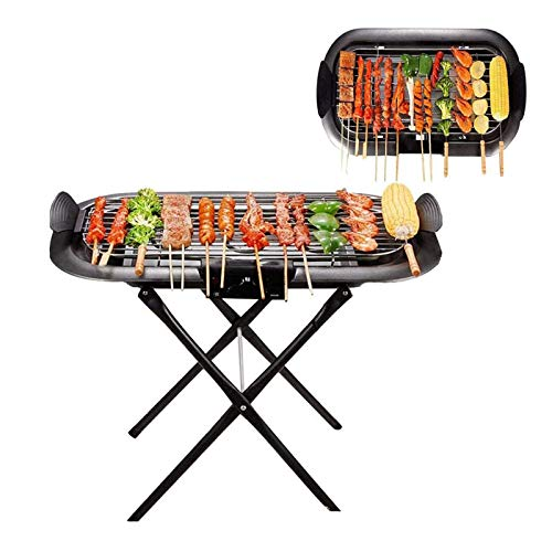 LIULIU Grill Rack Große Outdoor Gegrillte Spieße Plug-In Folding Tragbare Hoffamilie Barbecue Grill Dual-Zweck Barbecue Grill