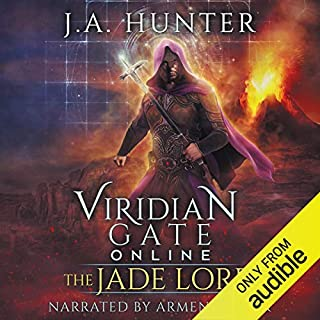 Page de couverture de Viridian Gate Online: The Jade Lord: A litRPG Adventure