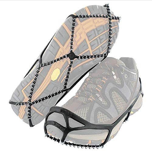UTC Walk Traction Cleats for Walking on Snow and Ice (1 Pair) (Medium (Shoe Size: W 10.5-12.5/M 9-11))