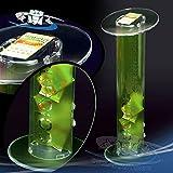 Circuito AUT AUT Postazione da Terra per Gratta e Vinci, espositore da Terra, tavolino Raccoglitore in plexiglas con Contenitore
