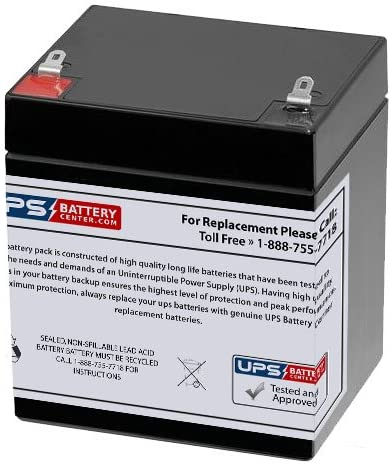 DJW12-4.5 12V 5Ah SLA Replacement famous Battery Max 78% OFF Terminal with F1 UP by