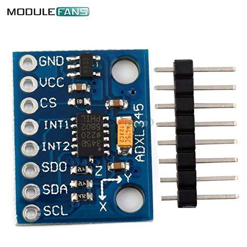 Ballylelly GY-61 ADXL335 Aceler/ómetro de Salida anal/ógica de 3 Ejes Transductor Angular 3-5V Triaxial Gravity Tilt Board para m/ódulo de Sensor Arduino
