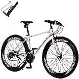 カノーバー クロスバイク 自転車 ボトルケージセット 21段変速 60mmエアロディープリム Vブレーキ CAC-025 NYMPH ホワイト 29413 700C