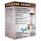 Keurig 5000351184 K-Duo 3 Month Care Brewer Maintenance Kit, Regular, None