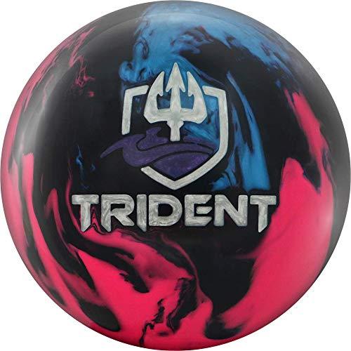 Motiv Trident Horizon Bowling Ball - Blue/Navy/Pink 15lbs