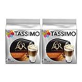 Tassimo T Discs L OR Espresso Latte Macchiato Caramel (2 Packs, 32 T Discs, 16 Servings)