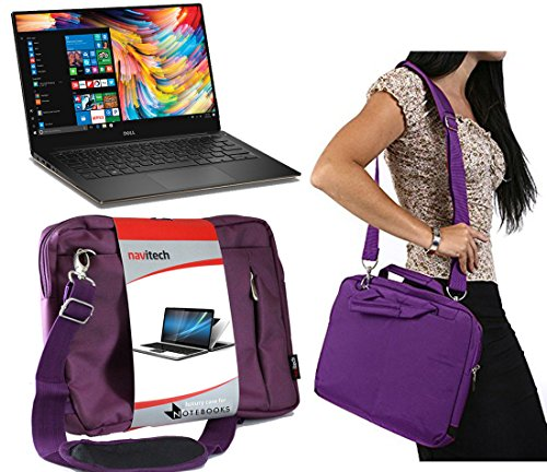 "Navitech Lilaes 13.3"" Laptop/Notebook/Ultrabook Case/Tasche für das Dell XPS 12 2-in-1 / XPS 13 Ultrabook"