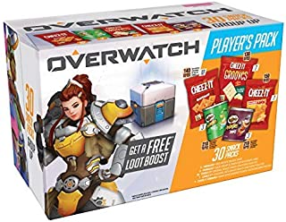 Cheez-It Overwatch Baked Snack Cheese Crackers 4 Count [並行輸入品]