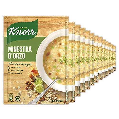 Knorr Minestra D'Orzo - Confezione Da 15 Pezzi - 1.58 kg