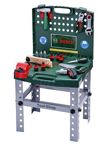 Theo Klein 8686 - transportable Bosch Werkbank, Spielzeug