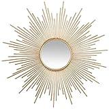Atmosphera - Miroir Soleil Tube doré D99
