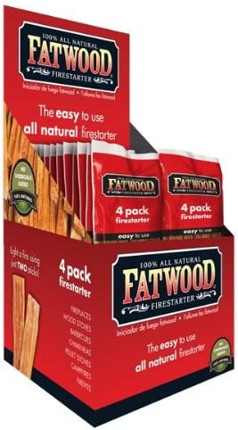 Better Wood San Antonio Mall Products Ranking TOP16 Fatwood Firestarter 4 Stick 26-Co Bag Poly