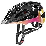 Uvex Quatro Casco de Bicicleta, Unisex-Adult, Future Black, 56-60 cm
