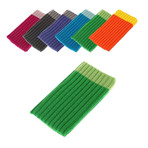 BRALEXX Universal Textil Socke passend für Allview E4, Grün