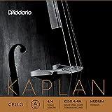 D'Addario Orchestral KS511 4/4M - Cuerda individual La para violonchelo, escala 4/4, tensión media