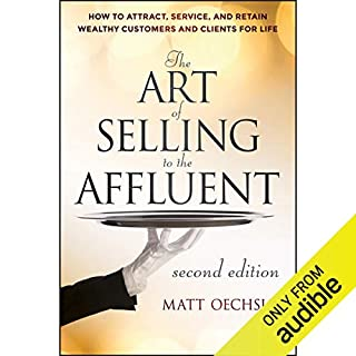 The Art of Selling to the Affluent audiobook cover art