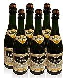 Bretonischer Apfelwein Doux - Cidre 6x0,75l La Fauconnaire -