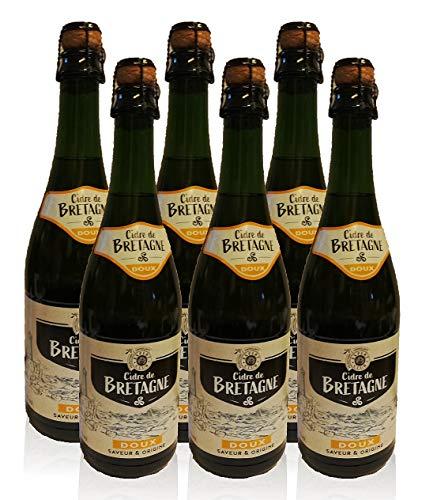 Bretonischer Apfelwein Doux - Cidre 6x0,75l La Fauconnaire