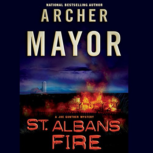 St. Albans Fire audiobook cover art