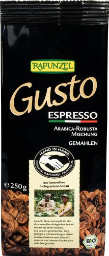 Rapunzel Bio Gusto Espresso allitaliana gemahlen HIH (2 x 250 gr)