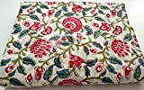 HANDICRAFTOFPINKCITY Indian Hand Block Print Fabric 2.5