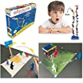 CLICK CLACK Exclusive Family Game Indoor Kids Activities Stem Learning Set Toy Fun for Children and Adults---Included Educational Games 20+