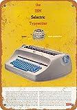IBM Selectric Typewriters Vintage Aluminum Metal Signs Tin