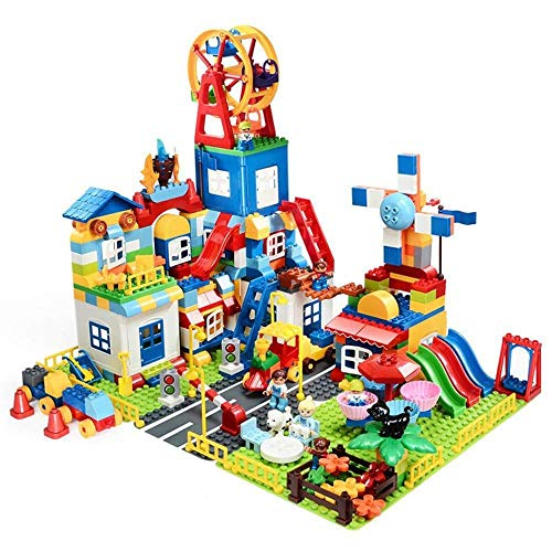 Lowest Price! Lcxligang Toy DIY Spelling and Inserting Puzzle Children's Building Blocks Large Parti...