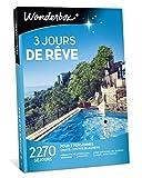 Wonderbox - Coffret cadeau séjour - 3 JOURS DE RÊVE - 2270 Séjours dépaysants en hôtels 3* et 4* étoiles, manoirs, châteaux, ferme rénovée, tipis en France ou en Europe