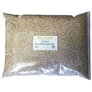 Balliihoo® 3kg Pack of Crushed Extra Pale/Lager Malt