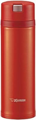 象印 ( ZOJIRUSHI ) 水筒 ステンレスマグ 480ml スカーレットクイックオープン&イージーロック SM-XB48-RV