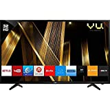 VU 80 cm (32 Inches) HD Ready Smart LED TV 32GVSM (Black) (2019 Model)