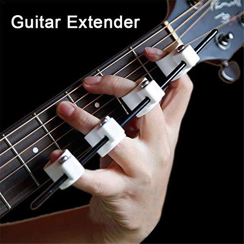 DYHQQ Gitarren-Finger-Expander, Kunststoff-Finger-Extensor-Finger-Stretcher-Exerciser-Erweiterung für Gitarren-Piano-Trainer Anfänger-Fingertrainer Instrumentenzubehör