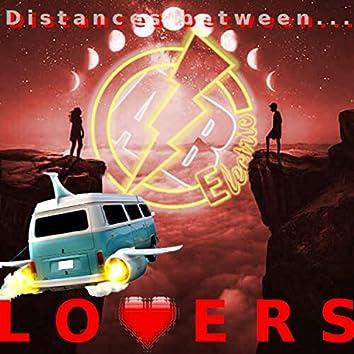 Distances between Lovers
