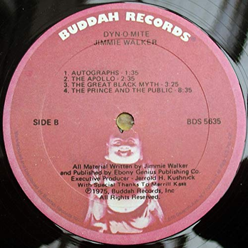 Jimmie Walker - Dyn-O-Mite - Buddah Records