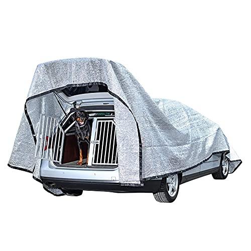 Paño de la sombra de aluminet para coches / perros, red de sombra para plantas, cubierta de invernadero, tela de pantalla solar de la pantalla solar de la pantalla solar, cubierta protectora de la caj