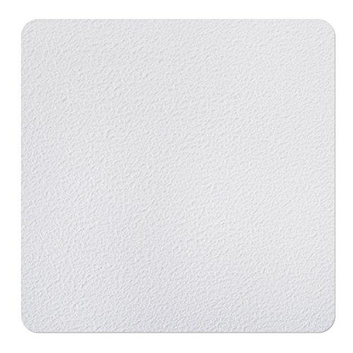 Nasszonen Klebequadrate Weiß   für Rutschsicherheit in Barfußbereichen - 14x14cm   20 Stück