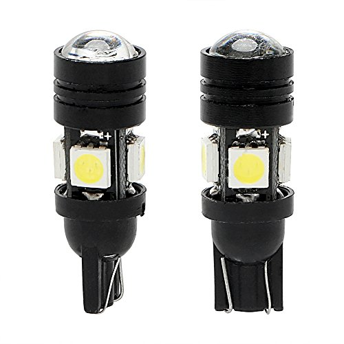 Itimo 1 paire Car-styling 168 194 T10 W5 W Auto Clearance Light Dome Lampe de lecture Super Bright Trunk lampe LED de voiture lumière de plaque d'immatriculation